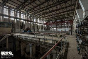 Kraftwerk V, Germany - Turbine Hall