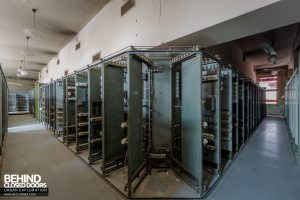 Kraftwerk V, Germany - Control panel back