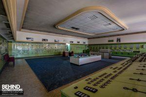 Kraftwerk V, Germany - Control room