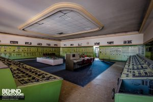 Kraftwerk V, Germany - Main control room