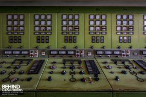 Kraftwerk V, Germany - Control panels