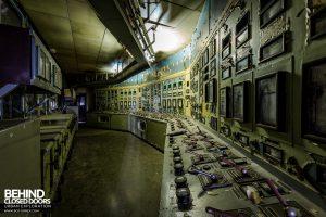 Kraftwerk V, Germany - Decaying control room