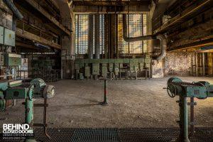 Kraftwerk V, Germany - Pumps and electrics