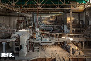 Kraftwerk V, Germany - Top of boiler house