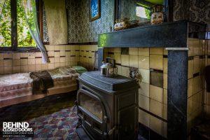 Maison Gustaaf, Belgium - Fireplace