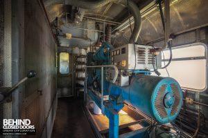 Medical Train, Germany - Diesel engine
