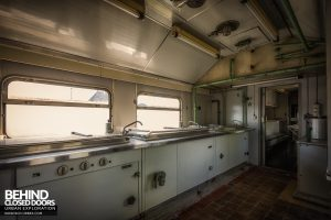 Medical Train, Germany - Galley kitchen