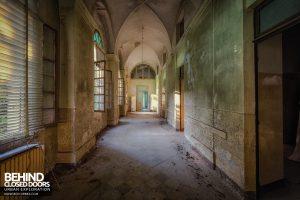 Manicomio di Racconigi - More corridor