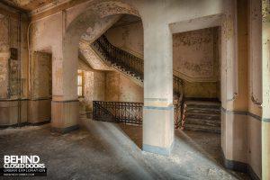 Manicomio di Racconigi - Staircase