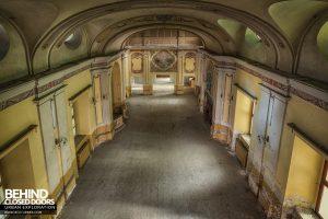 Manicomio di Racconigi - Hall from above