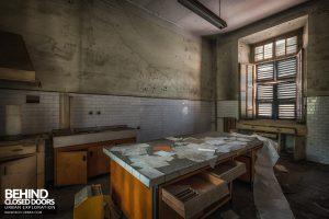 Manicomio di Racconigi - Room with paperwork