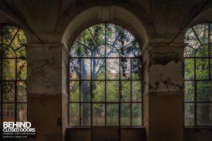 Manicomio di Racconigi - Huge windows