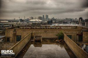 Millennium Mills - Roof view