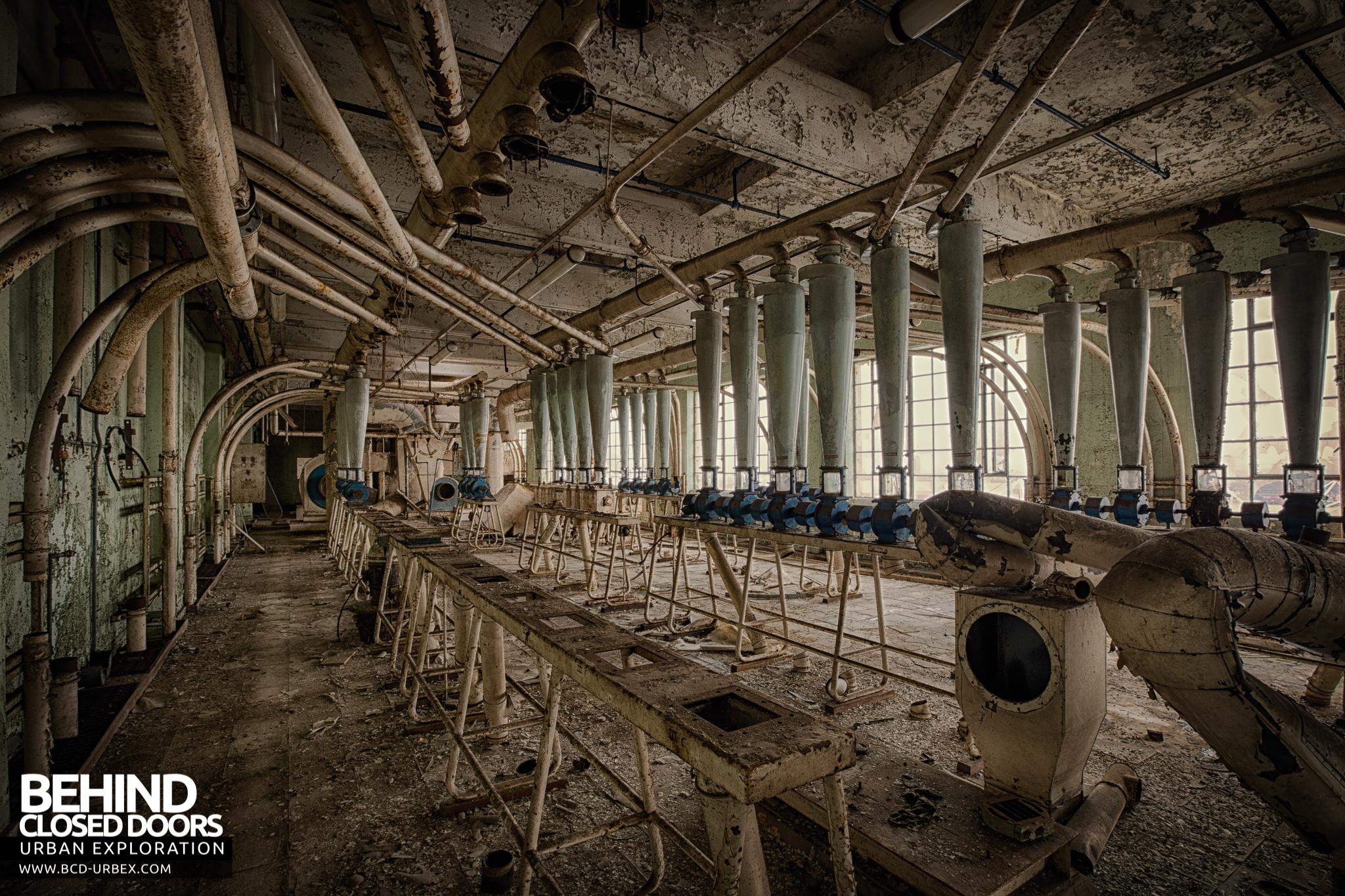 Spillers Millennium Mills London 187 Urbex Behind Closed