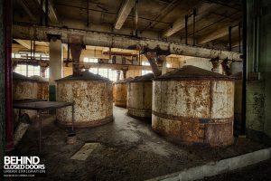 Millennium Mills - Storage Tanks
