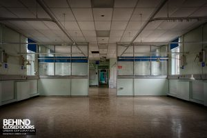 Selly Oak Hospital - An empty ward
