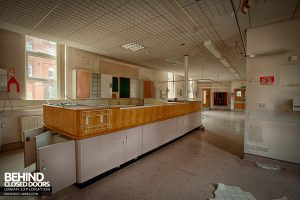 Selly Oak Hospital - Reception area