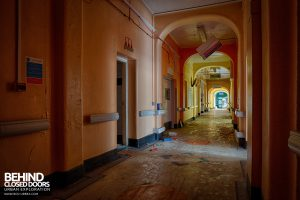 Selly Oak Hospital - Main corridor