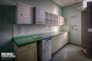 Selly Oak Hospital - Very clean room