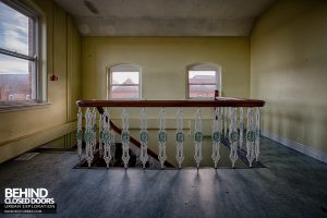Selly Oak Hospital - Top of stairs
