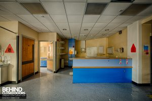 Selly Oak Hospital - Ward reception