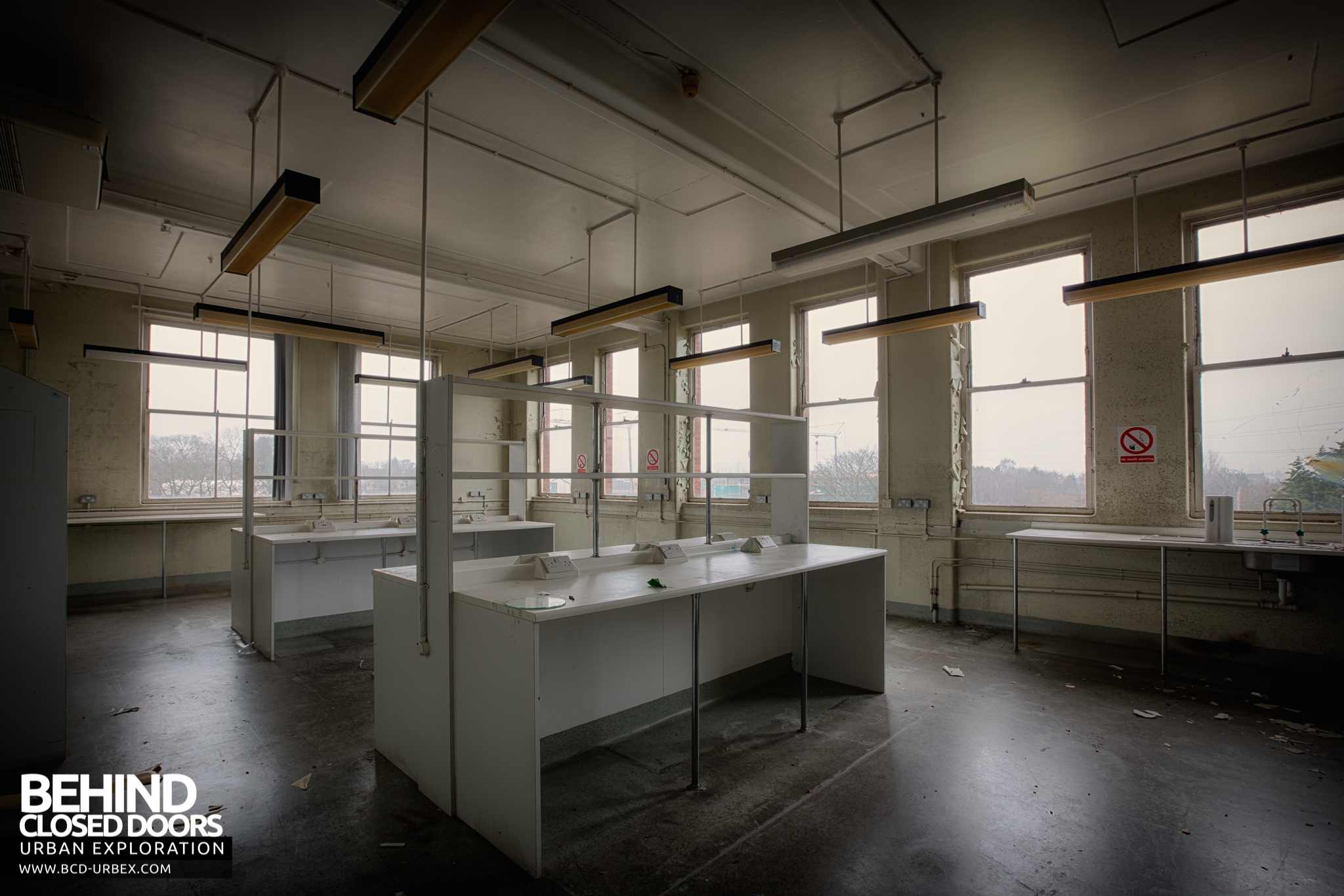 Selly Oak Hospital Abandoned Mortuary And Pathology Labs