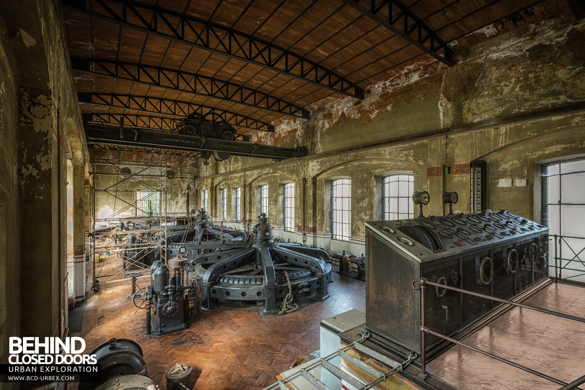 The Black Turbines of Italy An abandoned hydroelectric power