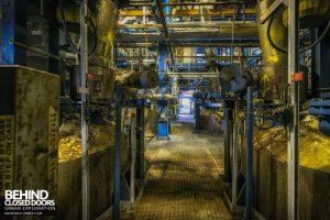 British Celanese, Spondon - Lots of complex machinery