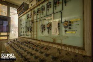 British Celanese, Spondon - Control panel