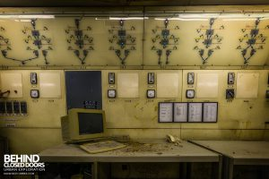 British Celanese, Spondon - Old control room