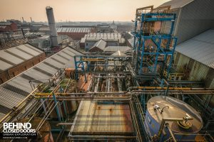 British Celanese, Spondon - View over the newer parts