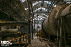 British Celanese, Spondon - Big rotating pipes
