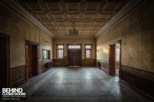 High Royds Asylum - Grand entrance