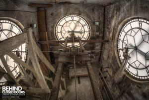 High Royds Asylum - Clock workings