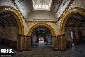 High Royds Asylum - Triple arches