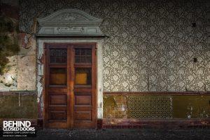 High Royds Asylum - Doorway detail