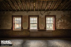 High Royds Asylum - Three windows