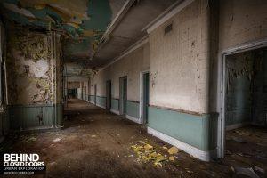 High Royds Asylum - Corridor