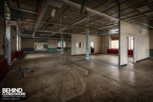 High Royds Asylum - Ward areas