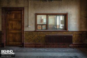 High Royds Asylum - Reception office