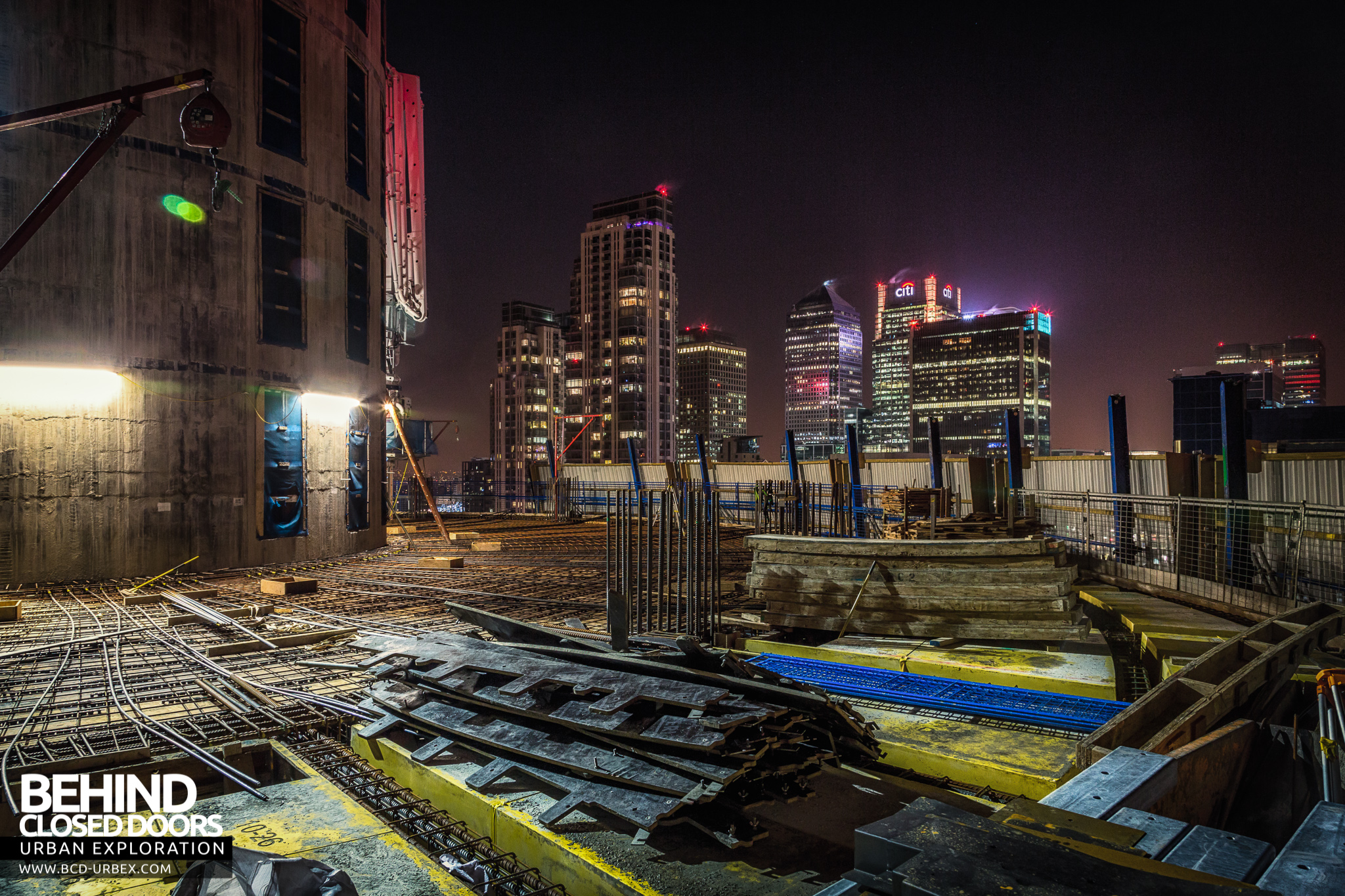 London city rooftops january 2015 urbex behind for Images of building sites
