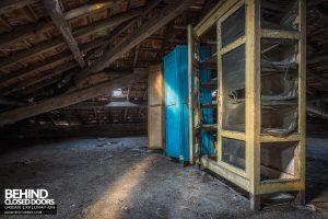 Mono Orphanage, Italy - Attic storage