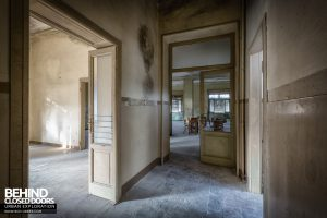 Mono Orphanage, Italy - Doorway to classroom
