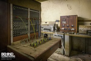 Brogyntyn Hall -Switchboard