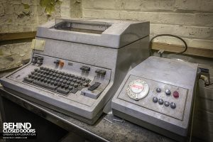 Brogyntyn Hall - Telex machine