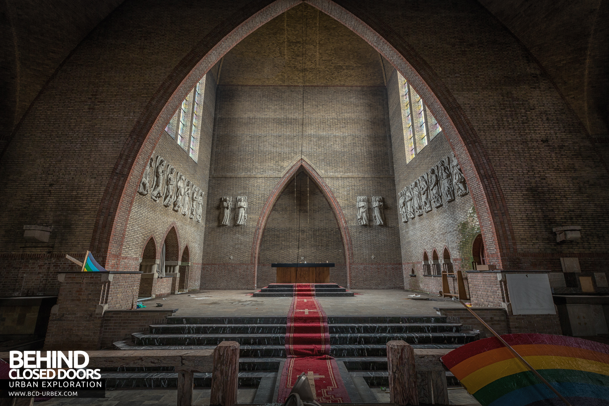 Abandoned Rainbow Church Netherlands 187 Urbex Behind