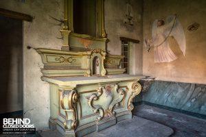 St Joseph's Orphanage Italy - The chapel