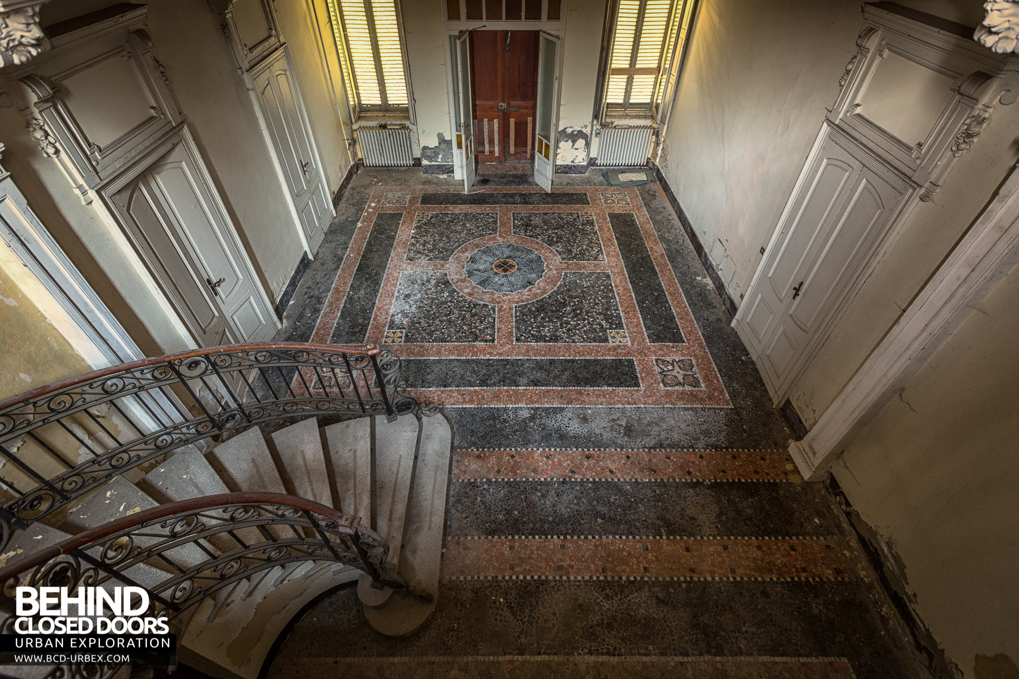 Hall Floor Tiles >> Villa Margherita, Abandoned House, Italy » Urbex | Behind Closed Doors Urban Exploring Abandoned ...