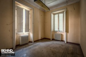 Villa Margherita, Italy - Empty room