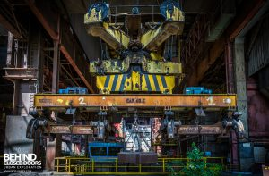 CSGD Steel Works, Belgium - Heavy lifting gear